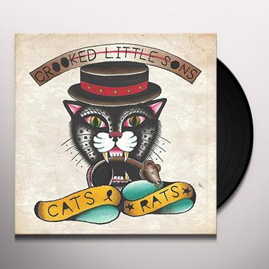 CROOKED LITTLE SONS CATS & RATS (EP) Vinyl Record - UK Import
