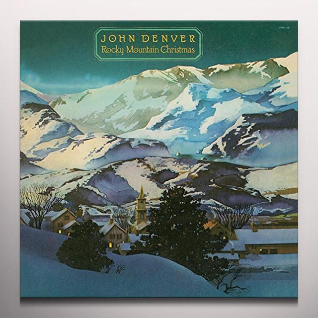 John Denver ROCKY MOUNTAIN CHRISTMAS Vinyl Record