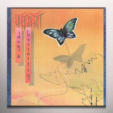 Heart DOG & BUTTERFLY Vinyl Record - Colored Vinyl, Gatefold Sleeve, Gold Vinyl, Limited Edition, 180 Gram Pressing