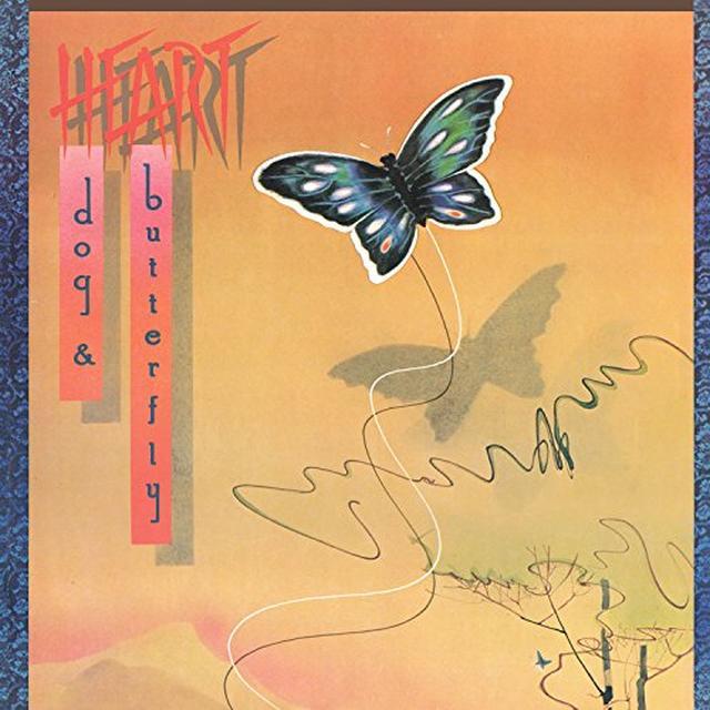 Heart DOG & BUTTERFLY Vinyl Record - Colored Vinyl, Gatefold Sleeve, Gold Vinyl, Limited Edition, 180 Gram Pressing