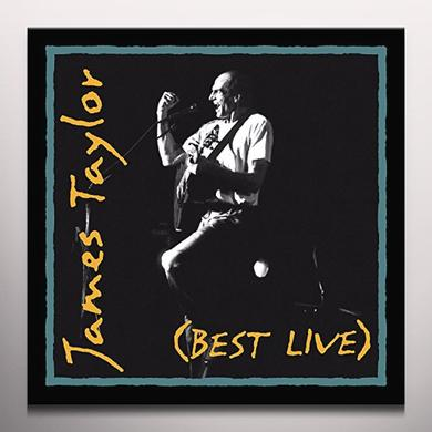 James Taylor BEST LIVE Vinyl Record - Clear Vinyl, Gatefold Sleeve, Limited Edition, 180 Gram Pressing, Anniversary Edition