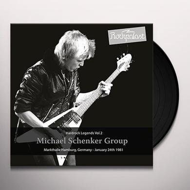 Michael Schenker HARD ROCK LEGENDS 2: MARKTHALLE 1981 Vinyl Record