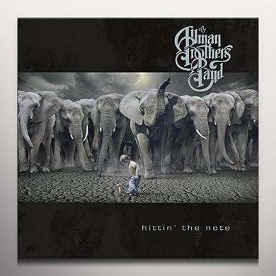 Allman brothers band HITTING THE NOTE Vinyl Record - Black Vinyl, Colored Vinyl, Gatefold Sleeve