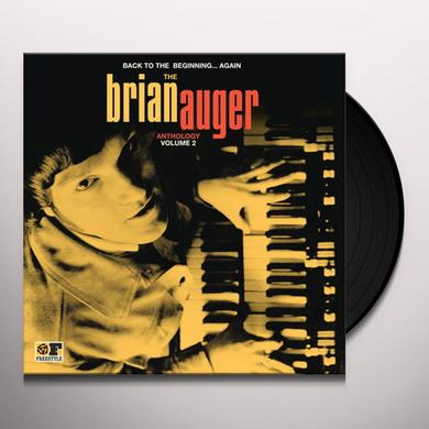 BACK TO THE BEGINNING AGAIN: BRIAN AUGER VOL. 2 Vinyl Record