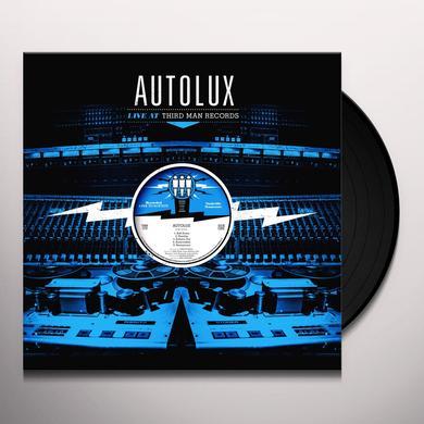 Autolux LIVE AT THIRD MAN RECORDS Vinyl Record