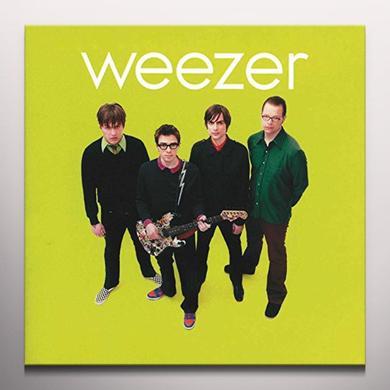 WEEZER (GREEN ALBUM) Vinyl Record - Colored Vinyl, Green Vinyl