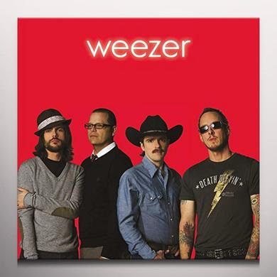 WEEZER (RED ALBUM) Vinyl Record - Colored Vinyl, Red Vinyl