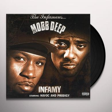 Mobb Deep INFAMY Vinyl Record - Holland Import