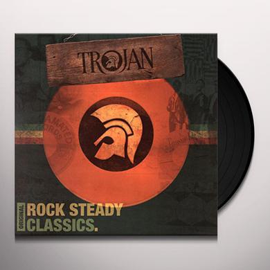 TROJAN: ORIGINAL ROCK STEADY CLASSICS / VARIOUS Vinyl Record