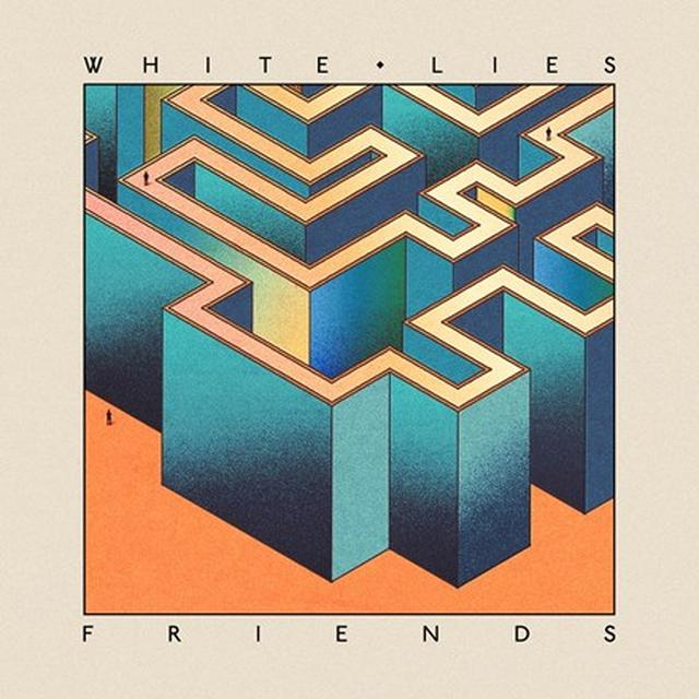 White Lies FRIENDS Vinyl Record - Picture Disc, Digital Download Included