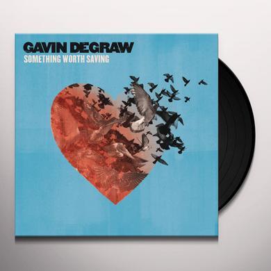 Gavin Degraw SOMETHING WORTH SAVING Vinyl Record