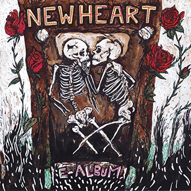 New Heart E-ALBUM Vinyl Record