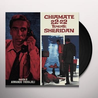 Armando Trovajoli CHIAMATE 22-22 TENENTE SHERIDAN / O.S.T. Vinyl Record