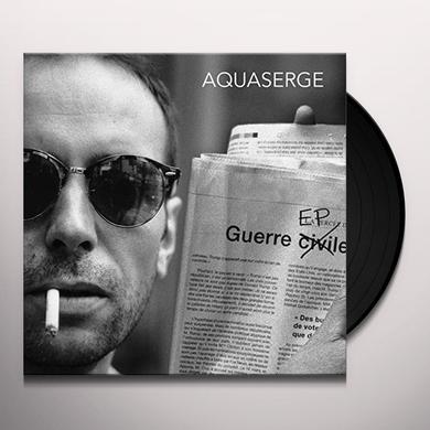Aquaserge GUERRE EP Vinyl Record