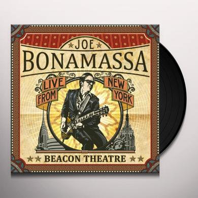 Joe Bonamassa BEACON THEATRE - LIVE FROM NEW YORK Vinyl Record - Gatefold Sleeve