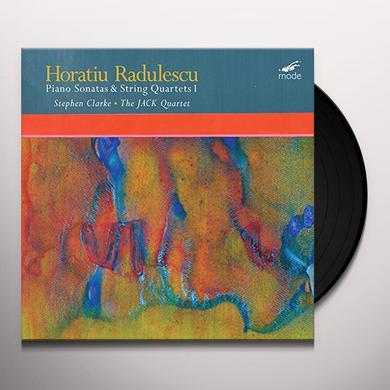 RADULESCU PIANO SONATAS & STRING QUARTETS 1 Vinyl Record
