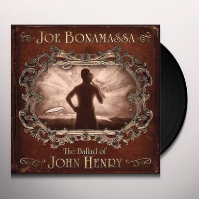Joe Bonamassa BALLAD OF JOHN HENRY Vinyl Record - Gatefold Sleeve