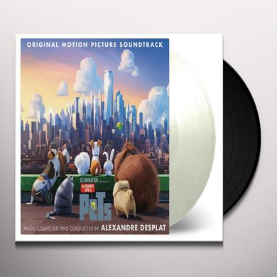 DESPLAT,ALEXANDRE (GATE) (LTD) (OGV) (WHT) THE SECRET LIFE OF PETS - SOUNDTRACK Vinyl Record - Gatefold Sleeve, Limited Edition
