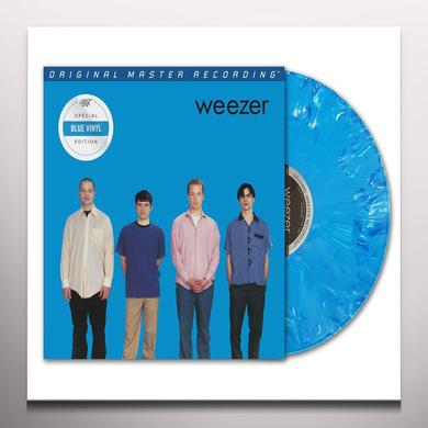 WEEZER (BLUE ALBUM) Vinyl Record - Blue Vinyl, Limited Edition, 180 Gram Pressing, Remastered