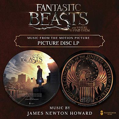 James Newton Howard FANTASTIC BEASTS & WHERE TO FIND THEM / O.S.T. Vinyl Record