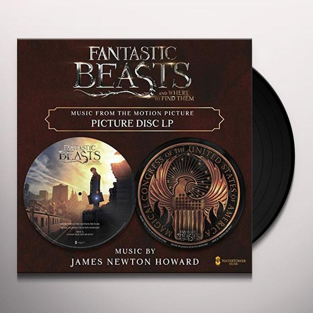 HOWARD,JAMES NEWTON FANTASTIC BEASTS & WHERE TO FIND THEM / O.S.T. Vinyl Record