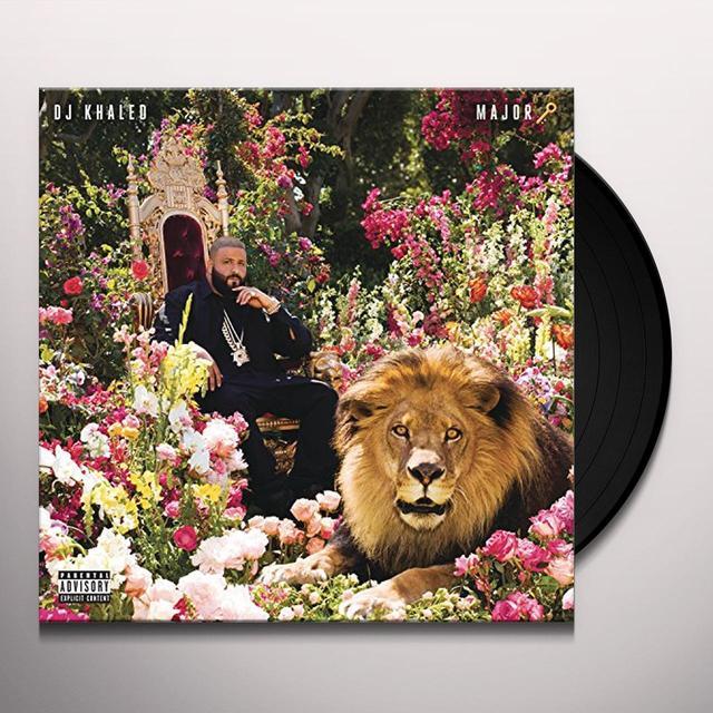 Dj Khaled MAJOR KEY Vinyl Record