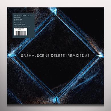 SASHA : SCENE DELETE : REMIXES #1 Vinyl Record - 10 Inch Single, Colored Vinyl