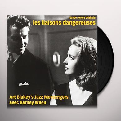 Barney Wilen LES LIAISONS DANGEREUSES (ORANGE VINYL) Vinyl Record