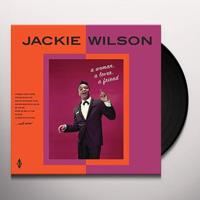 Jackie Wilson WOMAN A LOVER A FRIEND Vinyl Record