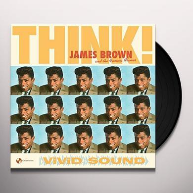 James Brown & The Famous Flames THINK! + 2 BONUS TRACKS (BONUS TRACKS) Vinyl Record - Spain Import