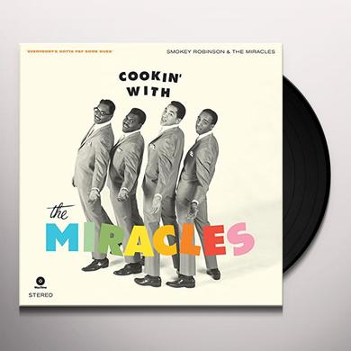 Smokey Robinson & The Miracles COOKIN WITH + 4 BONUS TRACKS Vinyl Record