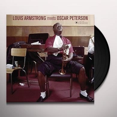 Louis Armstrong & Oscar Peterson LOUIS ARMSTRONG MEETS OSCAR PETERSON Vinyl Record