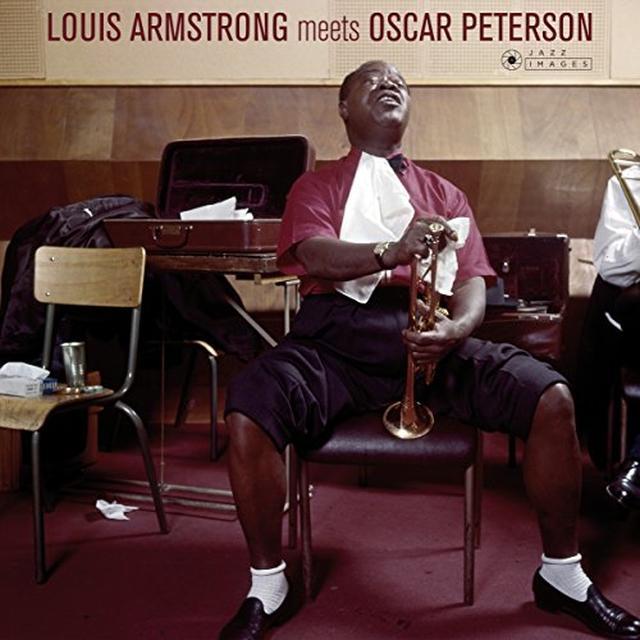 Louis Armstrong & Oscar Peterson LOUIS ARMSTRONG MEETS OSCAR PETERSON Vinyl Record - Gatefold Sleeve, 180 Gram Pressing