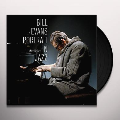 Bill Evans PORTRAIT IN JAZZ Vinyl Record - Gatefold Sleeve, 180 Gram Pressing, Spain Import