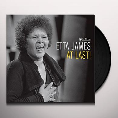 Etta James AT LAST Vinyl Record - Gatefold Sleeve, 180 Gram Pressing, Spain Import