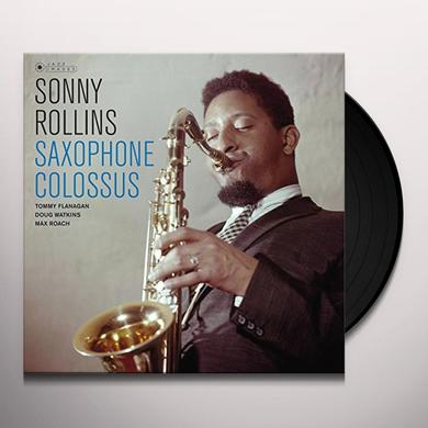 Sonny Rollins SAXOPHONE COLOSSUS Vinyl Record - Gatefold Sleeve, 180 Gram Pressing, Spain Import