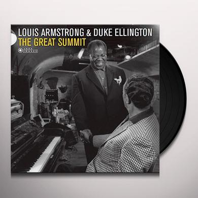 Louis Armstrong & Duke Ellington GREAT SUMMIT Vinyl Record