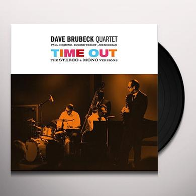 Dave Brubeck TIME OUT: STEREO & MONO VERSIONS Vinyl Record - Spain Import