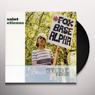 Saint Etienne FOXBASE ALPHA: 25TH ANNIVERSARY EDITION Vinyl Record - UK Import
