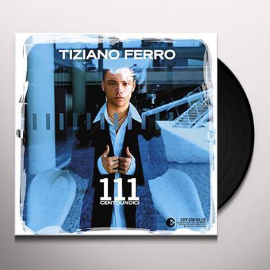 Tiziano Ferro 111 CENTOUNDICI Vinyl Record - Italy Import