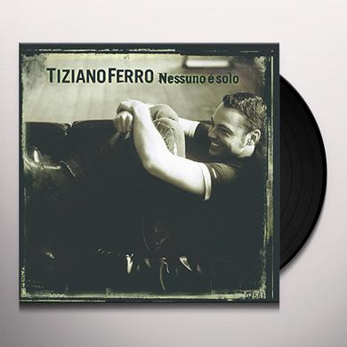 Tiziano Ferro NESSUNO E SOLO Vinyl Record - Italy Import