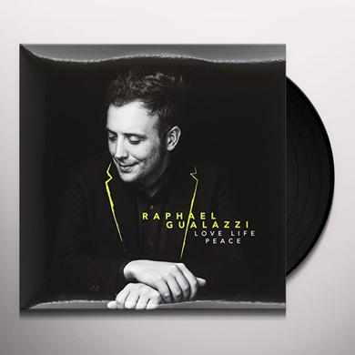 Raphael Gualazzi LOVE LIFE PEACE Vinyl Record - Italy Import