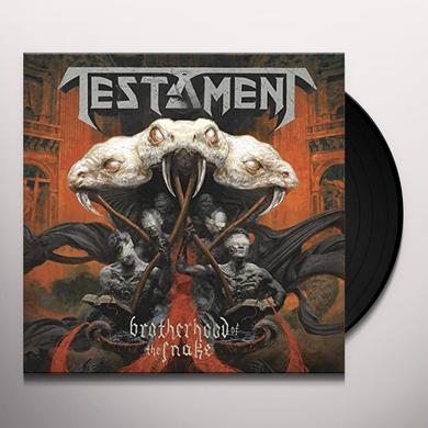 Testament BROTHERHOOD OF THE SNAKE (BOX) Vinyl Record - UK Import