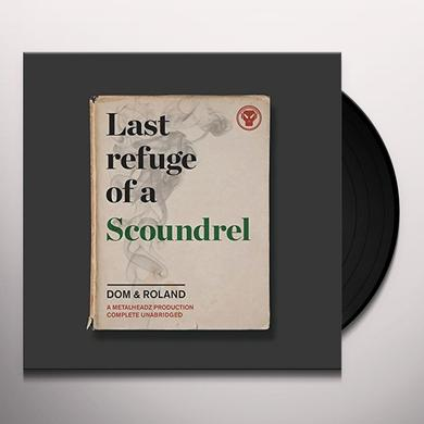 Dom & Roland LAST REFUGE OF A SCOUNDREL Vinyl Record - Canada Import