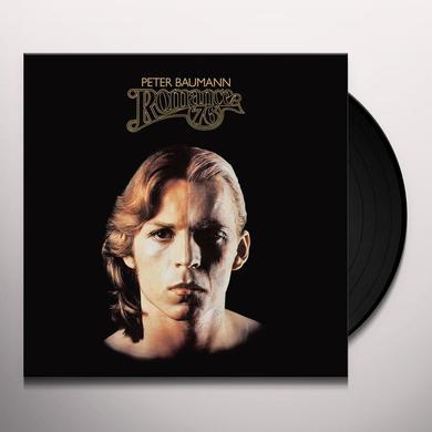 Peter Baumann ROMANCE 76 Vinyl Record