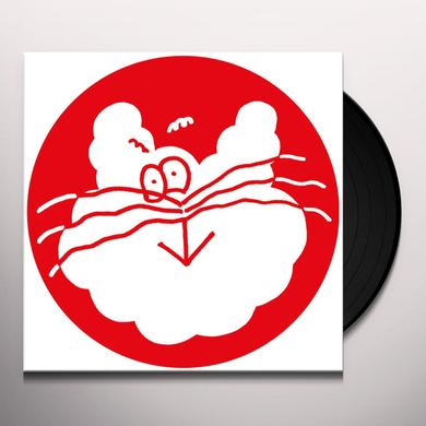 Red Axes BUBBLE CAT Vinyl Record