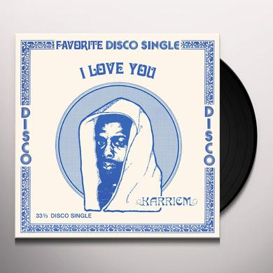 KARRIEM I LOVE YOU Vinyl Record