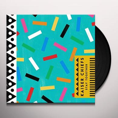 Kaiser Chiefs STAY TOGETHER Vinyl Record - Limited Edition, 180 Gram Pressing