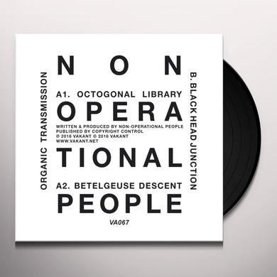 NON-OPERATIONAL PEOPLE ORGANIC TRANSMISSION Vinyl Record
