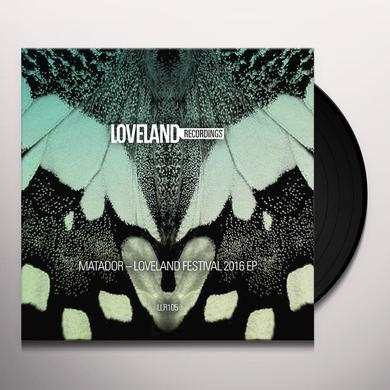 Matador LOVELAND FESTIVAL 2016 Vinyl Record